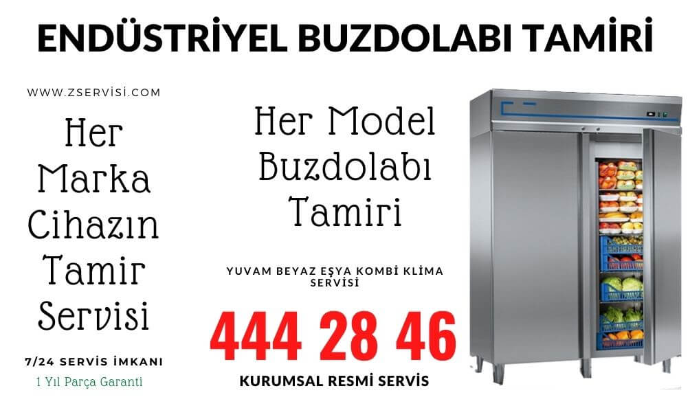 endüstriyel buzdolap tamir