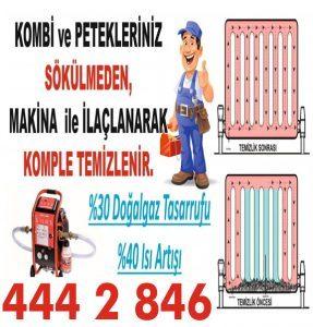 Kombi bakımı petek temizleme fiyatları