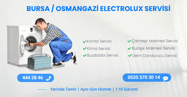 OSMANGAZİ ELECTROLUX SERVİS