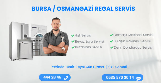 bursa osmangazi regal servisi