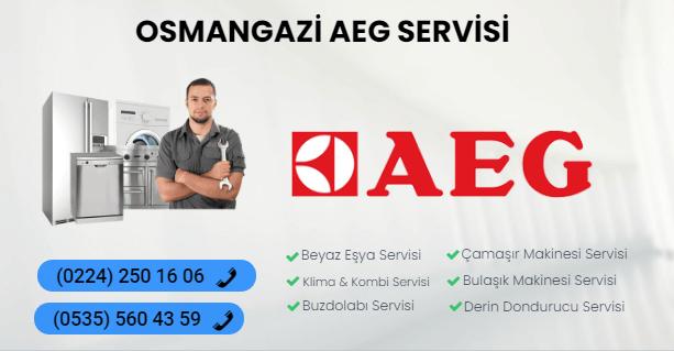 osmangazi AEG servisi