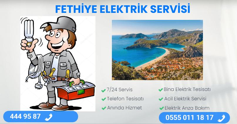fethiye elektrik servisi